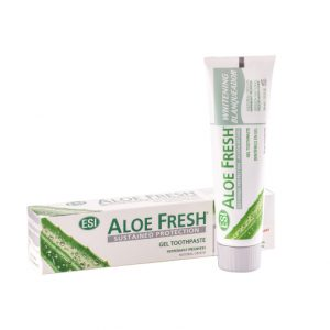 aloe fresh gel toothpaste white
